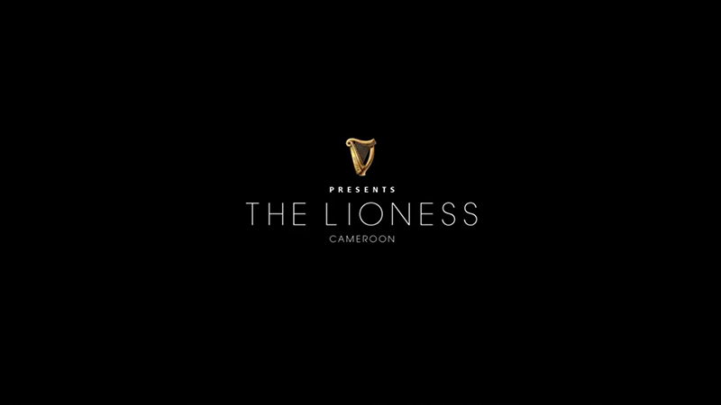Guinness Made of Black - Lioness